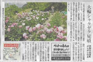 長野日報 2016年5月28日掲載